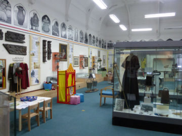 museum in Broad Street displaying history heritage costume