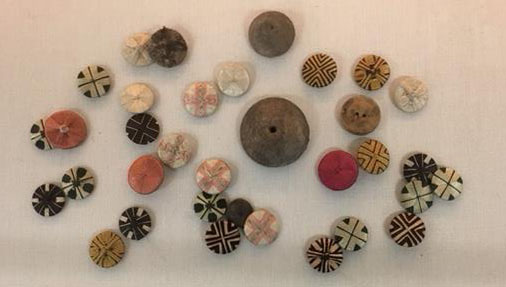 Buttons from the museum collections
