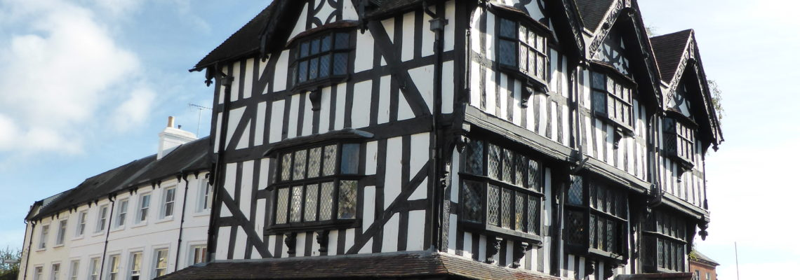 The Black and White House Museum in Hereford