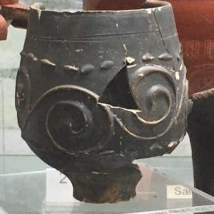 Roman pot from the museum