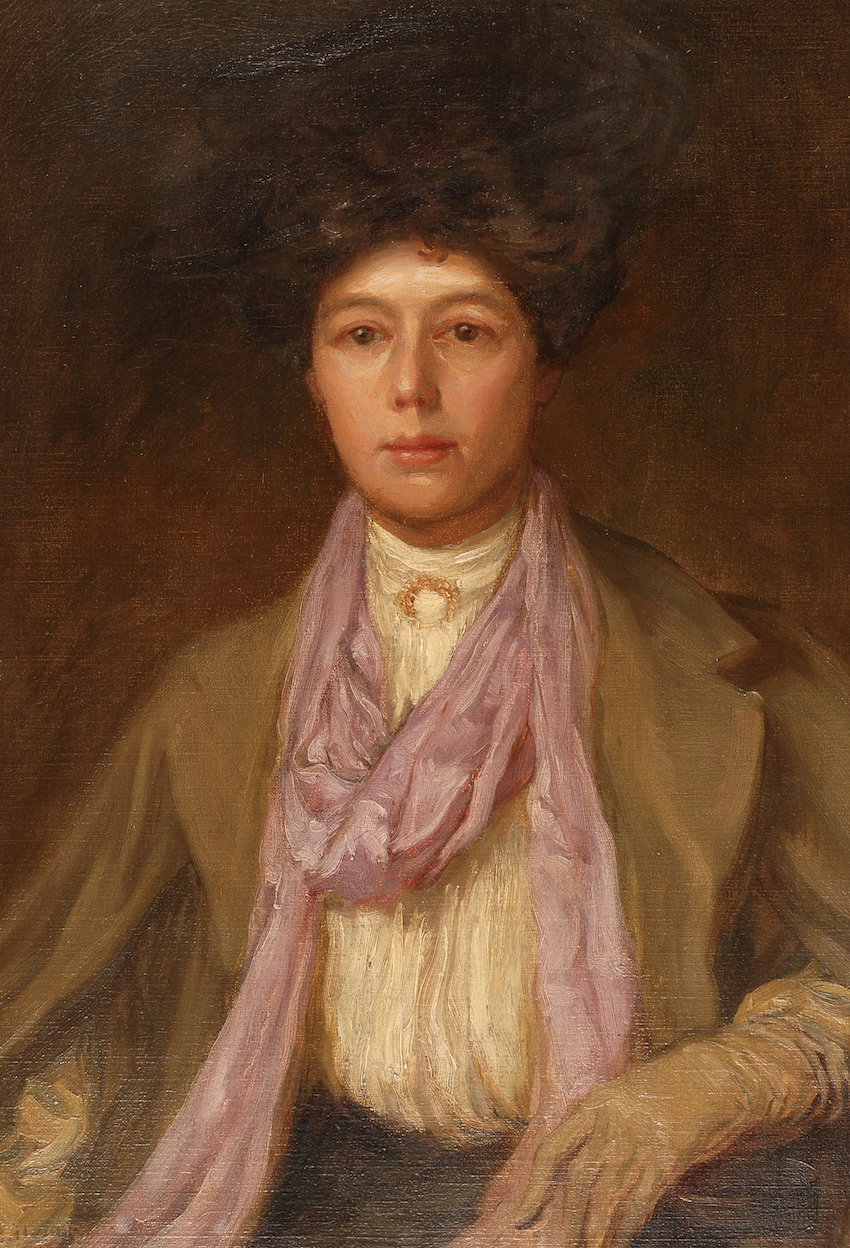Brian Hatton portrait of Mother